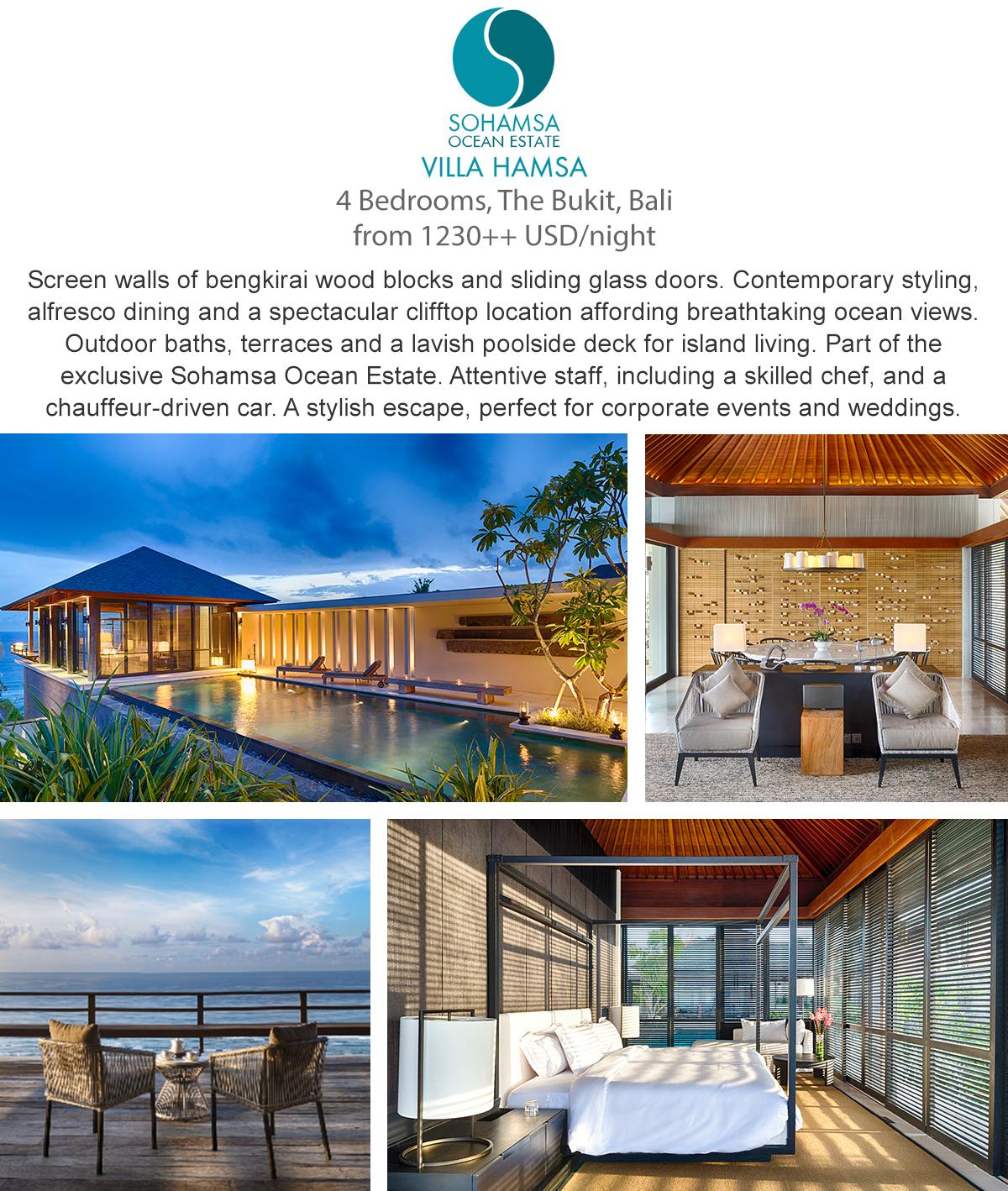 Villa Hamsa - Bali, Indonesia