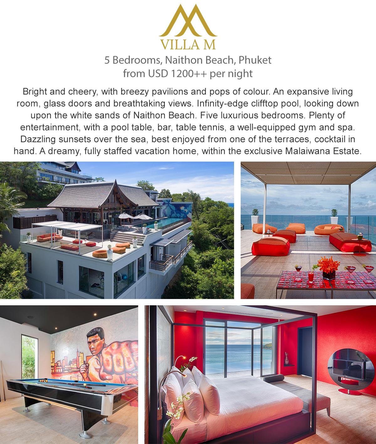 Villa M - Phuket, Thailand