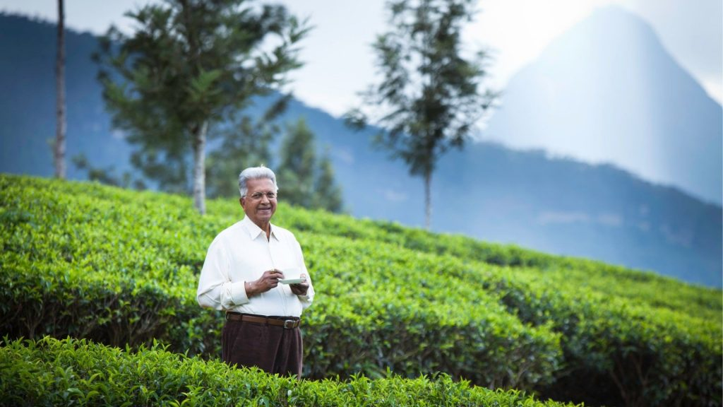 Dilmah tea founder